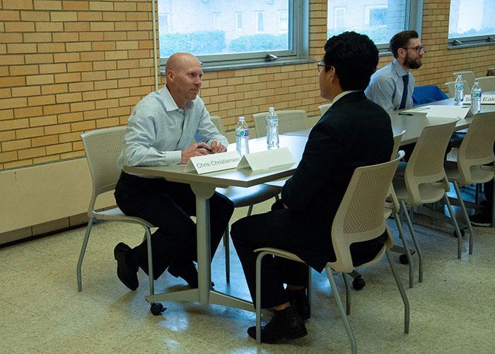 Mock Interviews with Chris Christiansen