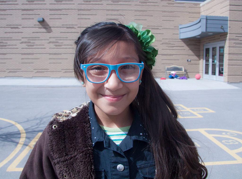 community school glasses