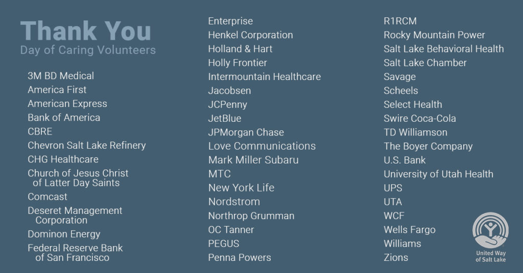 Day of Caring company list