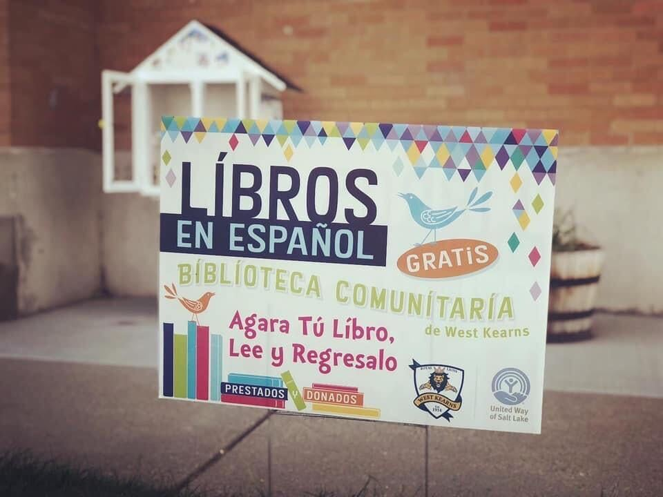 Little Library Signage