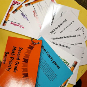 Cards for students and families