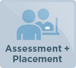assessment and placement icon